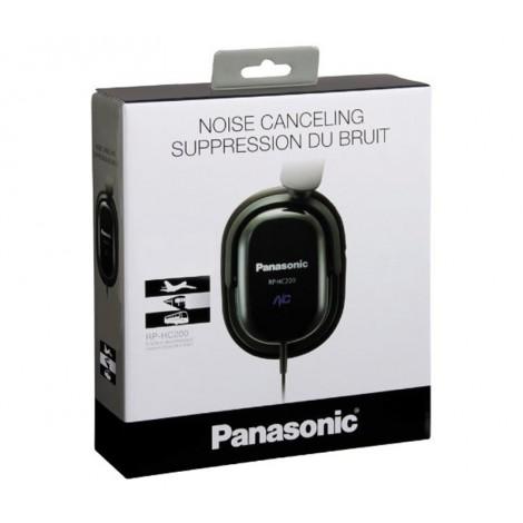 image else for Panasonic Noise Cancelling Headphones RP-HC200, Noise Cancelling Technology with Slim Fold Flat Design RP-HC200-K