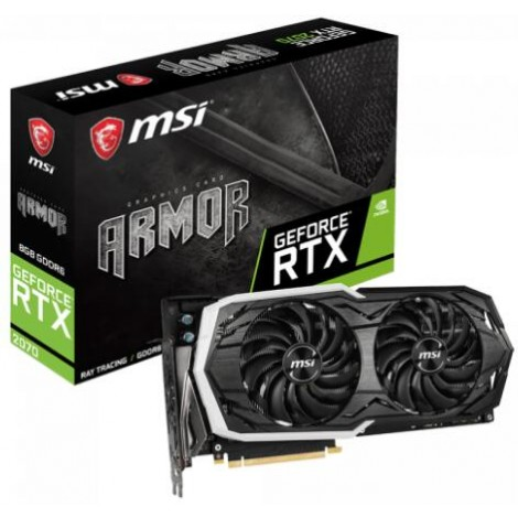 image else for Msi Geforce Rtx 2070 Armor 8G Ddr6 Nvidia Graphic Card Rgb Mystic Armor Thermal Boost Clock RTX 2070 ARMOR 8G