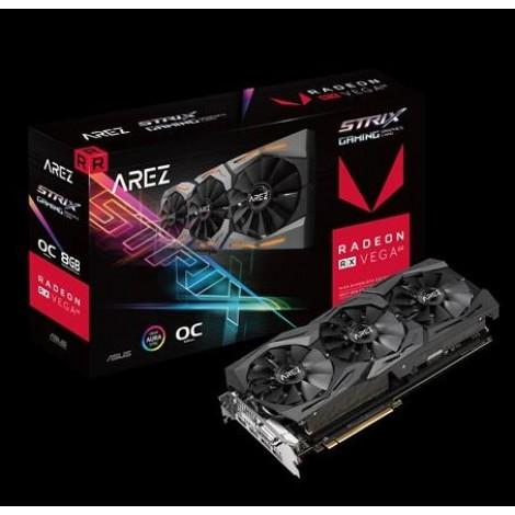 image else for ASUS ROG Strix Radeon RX VEGA64 gaming graphics card with ASUS Aura Sync 90YV0B00-M0NA00 90YV0B00-M0NA00