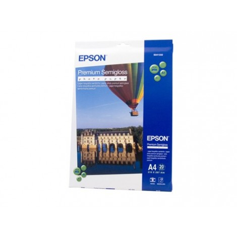 image else for Epson S041332 A4 Semigloss Premium Paper 20 Sheets C13S041332
