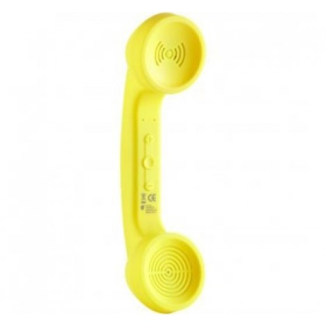image else for Ds Retro Bluetooth Rechargeable Handset Banana Yellow