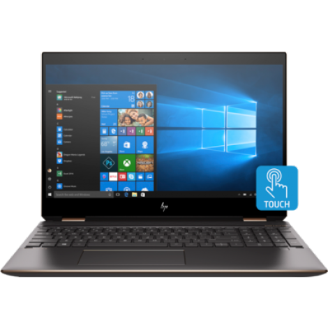 image else for Hp Spectre X360 13.3 Fhd Touch I7-8565U 16Gb Onboard Ssd 512Gb Dark Ash & Rose Gold W10 Pro 1/ 5SB75PA