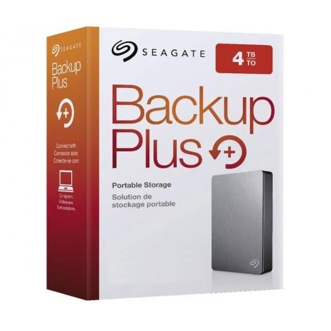 "image else for Seagate 4TB Backup Plus Portable 2.5"" External Hard Drive USB3.0 Silver STDR4000301 STDR4000301"