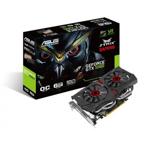 image else for ASUS STRIX GEFORCE GTX 1060 PC EDITION 6GB GDDR5 VR AND 4K STRIX-GTX1060-DC2O6G STRIX-GTX1060-DC2O6G