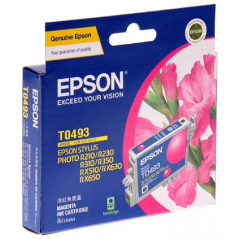 image else for Epson T049390 MAGENTA INK CARTRIDGE FOR RX630/ RX510/ R310/ R210, 430pages C13T049390