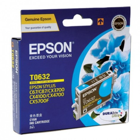 image else for Epson T063290 Cyan Ink Cartridge For C67/ C87, Cx3700/ 4100/ 4700, 380pages C13T063290