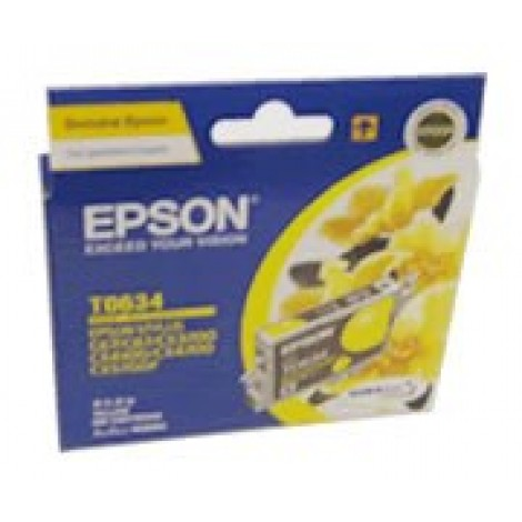 image else for Epson T063490 Yellow Ink Cartridge For C67/ 87, Cx3700/ 4100/ 4700, 380page C13T063490