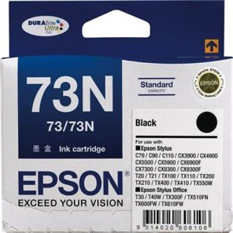 image else for Epson T105192, Black Ink For C79/ C90/ C110/ Cx5500/ Cx6900f/ 7300/ 8300/ 9300f C13T105192