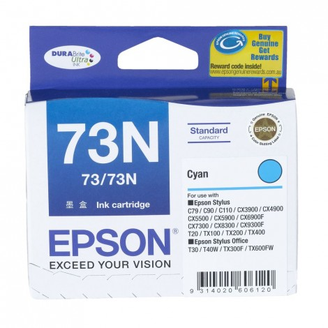 image else for Epson T105292 Cyan Ink For C79/ C90/ C110/ Cx5500/ Cx6900f/ 7300/ 8300/ 9300f C13T105292