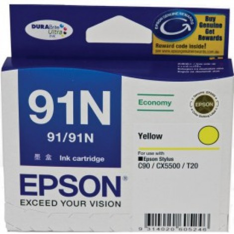 image else for Epson T107492 Epson Stylus C90/ CX5500 Low Cost Yellow Ink Cartridge C13T107492