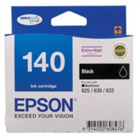 image else for Epson T140192 Extra High Capacity Black Ink, Workforce 60, 625, 630, 633 C13T140192