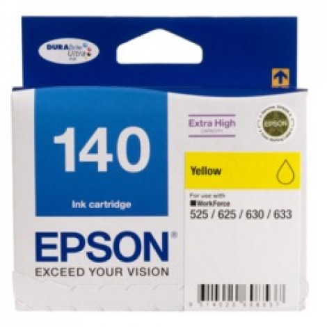 image else for Epson T140492 Extra High Capacity Yellow Ink, Workforce 60, 525, 625, 630, 633 C13T140492
