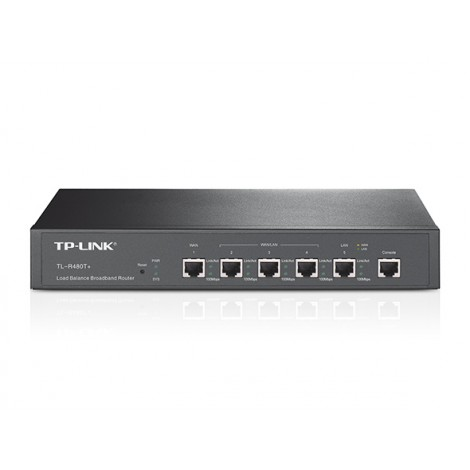 image else for Tp-Link Load Balancing Router With 2 Wan Ports And 3 Lan Ports For Smb-Business And Internet Cafe TL-R480T+