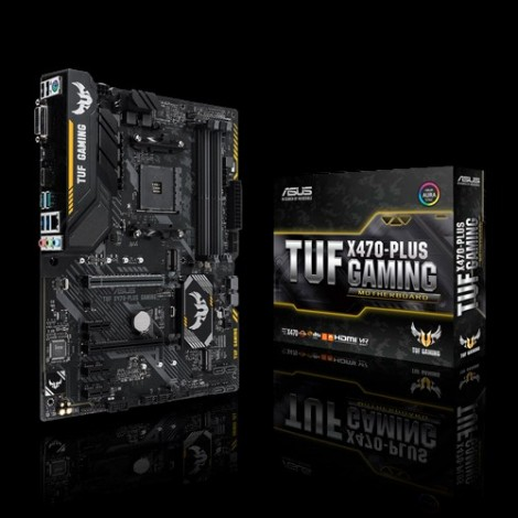 image else for Asus Amd X470 Atx Gaming Motherboard With Aura Sync Rgb Led Lighting Ddr4 3200mhz Support 32gbps 90MB0XL0-M0UAY0