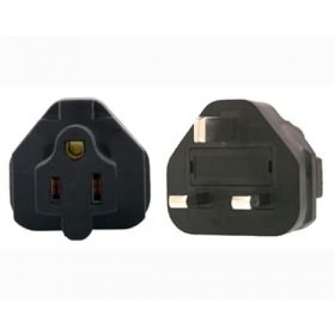 image else for Us 3 Pin To Uk 3 Pin Plug Adapter PA-6015