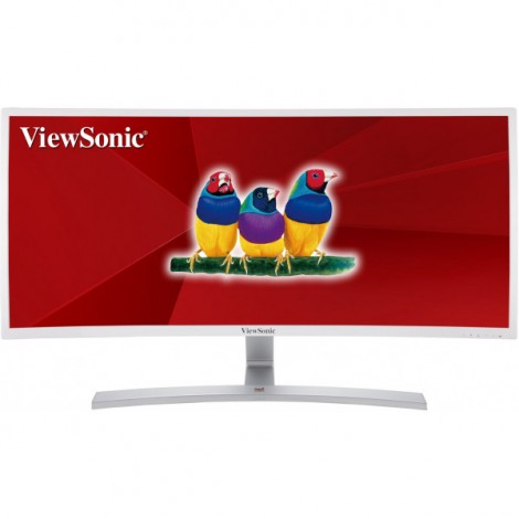 image else for Viewsonic Vx3515-c-hd-w 35in Curved Ultra-wide Va-lcd 21:9 2k (2560x1080) Hdmi Displayport Dvi-d