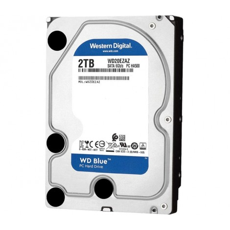 "image else for Western Digital 2TB WD Blue 5400RPM SATAIII 256MB 3.5"" Hard Disk Drive WD20EZAZ WD20EZAZ"