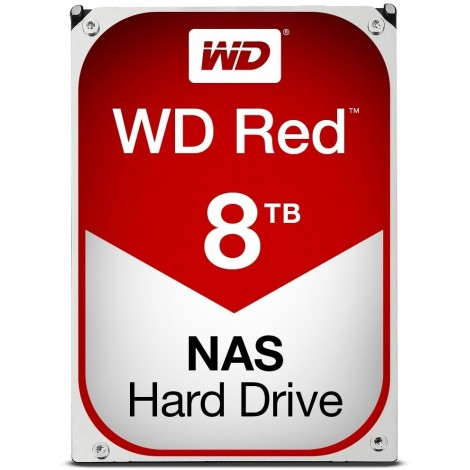 image else for Western Digital Red Nas Hard Drive 8tb Sata Iii 6 Gb/s 5400-rpm .5in 256mb Cache 3 Years Wd80efax WD80EFAX