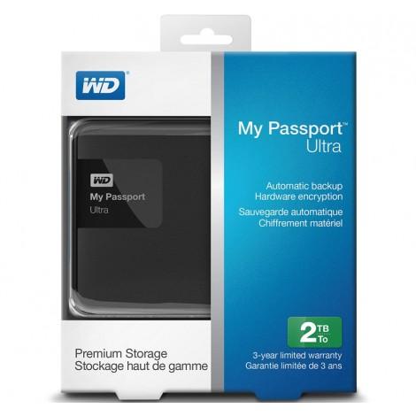 image else for Western Digital 2TB My Passport Ultra Portable External Hard Drive USB 3.0 Classic Black WDBBKD0020BBK WDBBKD0020BBK-PESN