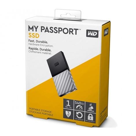image else for Western Digital WD 1TB My Passport SSD Portable USB Type-C 3.1 Black-Gray WDBKVX0010PSL-WESN WDBKVX0010PSL-WESN
