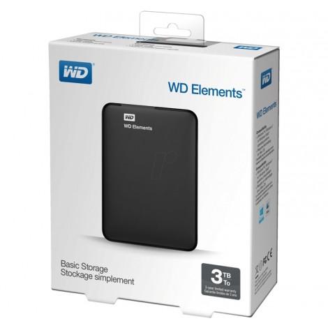 """image else for Western Digital Elements 3TB Portable 2.5"""" External USB3.0 Hard Drive WDBU6Y0030BBK WDBU6Y0030BBK-MS"""