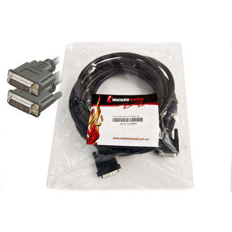 image else for Wicked Wired 5m Dvi-d Male To Dvi-d Male Dual Link Audio Visual Cable Ww-av-dvidmm5m WW-AV-DVIDMM5M