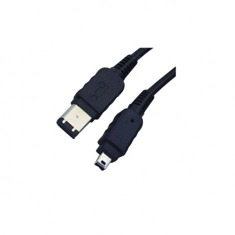 image else for Wicked Wired 2m 6pin To 4pin Ieee1394 Firewire Data Cable Ww-d-fw1394-6p4p2m WW-D-FW1394-6P4P2M