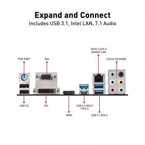 image else for Msi Intel Z390 Socket 1151 Atx Gaming Motherboard Turbo M.2 Extended Heatsink 4Xddr4 2Xpcie Z390-A PRO