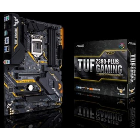 Asus Intel Z390 Atx Gaming Motherboard With Optimem Ii Aura Sync Rgb Led Lighting Ddr4 4266 Mhz