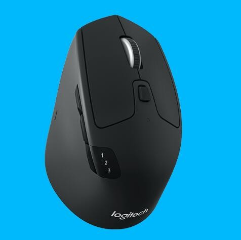 Logitech M720 Wireless Mouse Unifying Receiver/ Bluetooth Multi-device  Black 1yr Wty 910-004792