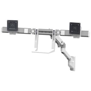 Ergotron Hx Wall Dual Monitor Arm White 45 479 216
