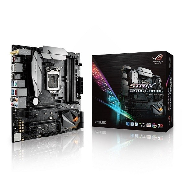 ASUS ROG STRIX Z270G GAMING Intel Z270 mATX Form Factor ...