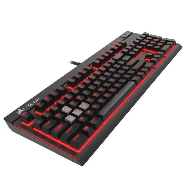 Corsair K70 Lux Red Led Cherry Mx Brown Mechanical Switch Keyboard  Ch-9101022-na