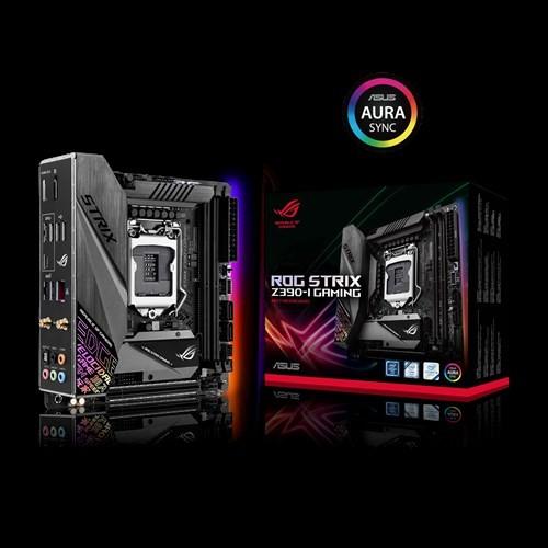 Asus Rog Strix Z390-I Gaming Intel Z390 Lga 1151 Mini-Itx Gaming Mb Ddr4  4600+ M 2 Intel Wi-Fi