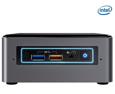 Intel Nuc Mini Pc Kit, I5-7260u, Ddr4(0/ 2), Sata-2 5