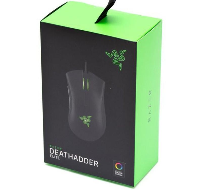 da1b31f5a73 image else for Razer Deathadder Elite Esports Gaming Mouse, Chroma Enabled  RGB, Ergonomic,