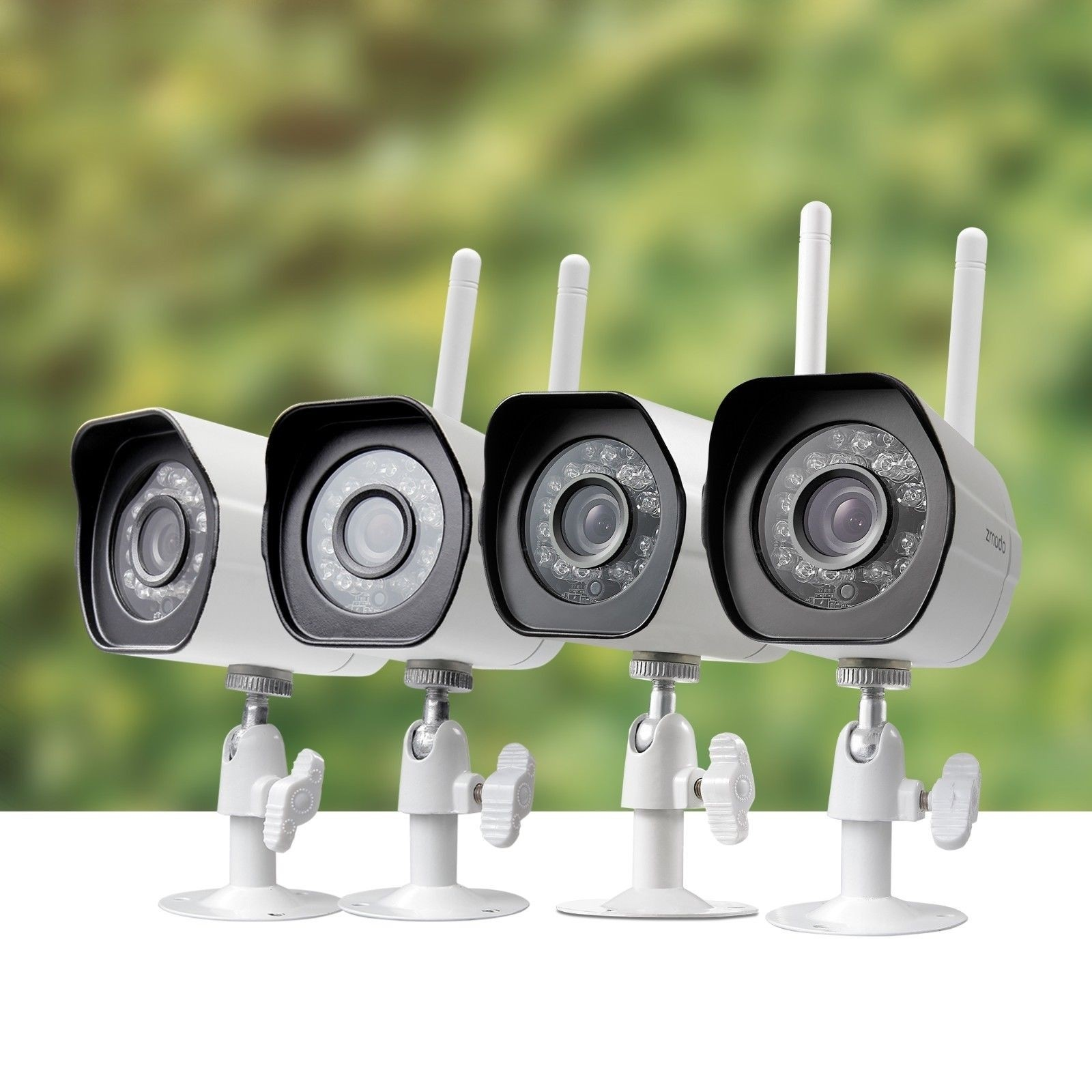 Zmodo 1280X720P Wireless Ip Network Outdoor Home Security