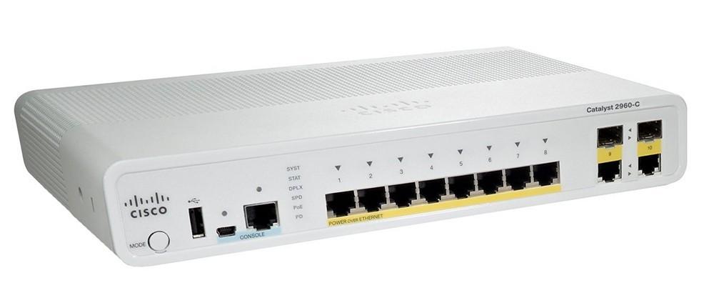 Cisco Catalyst 2960-cx 8 Port Data Lan Base Ws-c2960cx-8tc-l