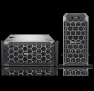 "Dell T440 Twr Silver-4210(1/2) 16Gb(2/16) 1Tb Sata 3.5""( 1/8) 495W(1/2) H730P+ 3Y Nbd 4Et4400802Au"
