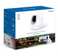 TP-Link NC450 HD Pan/ Tilt Wi-Fi Camera, Night Vision, 720P HD, 2-Way Audio