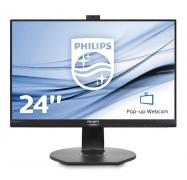 Philips 24In Fhd Ips 1920X1080 5Ms Vga/ Dp/ Hdmi Usd3.0 Speakers Webcam High-Adjustable Vesa 241B7Qpjkeb