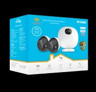 D-Link (Dcs-2802Kt) Indoor / Outdoor Wire-Free Camera Kit Dcs-2802Kt