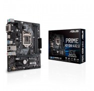 Asus PRIME-H310M-A R2.0 Intel LGA-1151 mATX Motherboard, DDR4 2666MHz, SATA 6Gbps and USB 3.1 Gen 1