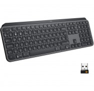 Logitech MX Keys Wireless Keyboard 920-009418, Designed for Creatives and Engineered for Coders