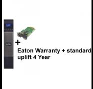 EATON 5PX 1500i RT2U + Warranty+ standard uplift 4 year: 5 seri + Gigabit Network Card (1668735 + 2681777 + 4334350)