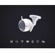 Ezviz C3W Wireless Outdoor (Ip66) Camera Fhd 2-Way Audio Ir Microsd Ac Power 2Yr Cs-Cv310-A0-1B2Wfr