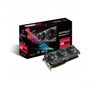 Asus Rog Strix Radeon Rx 580 O8g Gaming Oc Edition Gddr5 Dp Hdmi Dvi Vr Ready Amd Graphics [90yv0ak0-m0na00]
