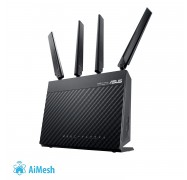 Asus 4g-ac68u Ac1900 Wireless Lte Modem Router 3g/ 4g Support Gigabit Ethernet Dual-wan Parental