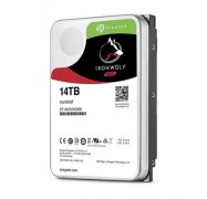 """Seagate 14Tb 3.5"""" Ironwolf Sata3 Nas 24X7 Performance 7200 Rpm 256Mb Cache Hdd (St14000Vn0008)"""