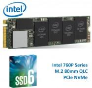 Intel 660P Series M.2 80Mm 1Tb Ssd 3D2 Qlc Pcie Nvme 1800R/ 1800W Mb/ S 150K/ 220K Iops 1.6 Million